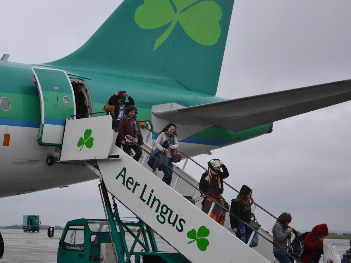 Avion Irlande