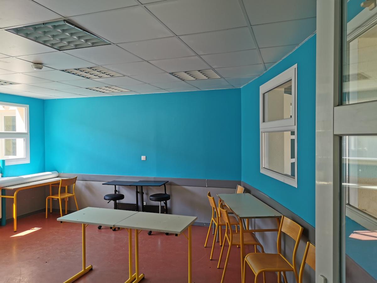 salle de travail groupes